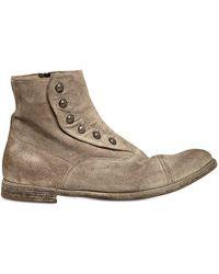 """Officine Creative - Stiefel Aus Vintage-wildleder """"ghetta"""" - Lyst"""