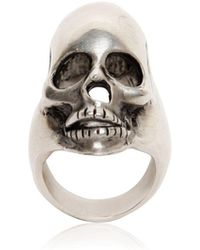 Saint Laurent - Skull Ring - Lyst