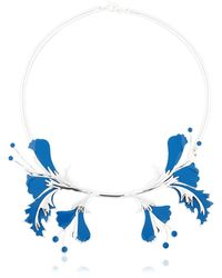 EK Thongprasert - Metal Flower Necklace - Lyst