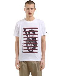 Antonio Marras   Printed Cotton Jersey T-shirt   Lyst
