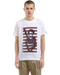 Antonio Marras - Printed Cotton Jersey T-shirt - Lyst