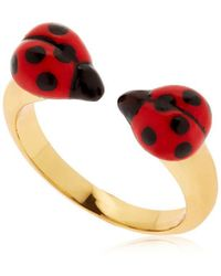 Nach - Ladybugs Face To Face Ring - Lyst