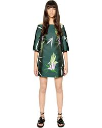 Marni - Silk Blend Jacquard Dress - Lyst