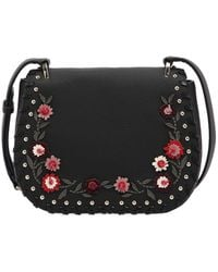 Kate Spade - Tressa Floral Appliqués Leather Bag - Lyst