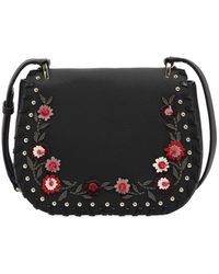 Kate Spade - Tressa Floral Appliqués Leather Bag - Lyst
