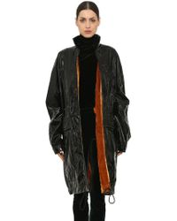 92b22678aa3 Haider Ackermann - Vinyl Raincoat W  Velvet Lining - Lyst