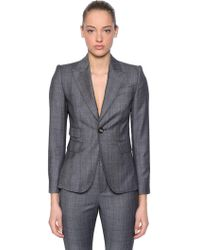 DSquared² - Wool Prince Of Wales Suit - Lyst
