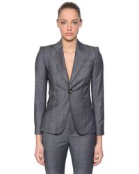 DSquared² Wool Prince Of Wales Suit
