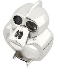 Cantini Mc Firenze - Kong Skull Sterling Silver Ring - Lyst