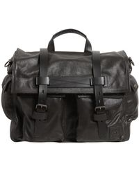 Belstaff - Colonial Leather Messenger Bag - Lyst