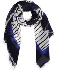 Faliero Sarti - Striped Cotton Scarf - Lyst