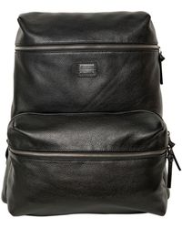 Dolce & Gabbana | Deer Print Leather Backpack | Lyst