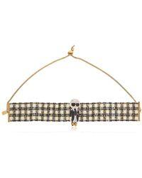 Bijoux De Famille - Karl Beaded Choker Necklace - Lyst