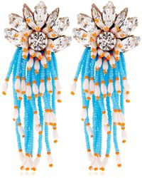 Shourouk - Cascade Earrings - Lyst