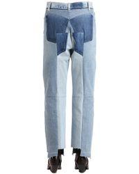 Vetements - Reworked Raw Cut Cotton Denim Jeans - Lyst