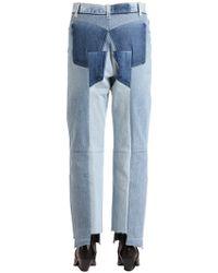 Vetements - Jeans In Denim Reworked - Lyst