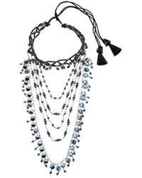 Night Market - Multi Chain Decò Choker Necklace - Lyst