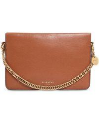Givenchy - Cross 3 Leather & Suede Shoulder Bag - Lyst