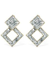Shourouk - Jane Glitter Earrings - Lyst