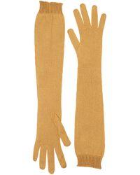 Rochas - Silk Knit Long Gloves - Lyst