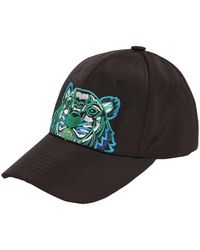 KENZO - Embroidered Techno Canvas Baseball Hat - Lyst