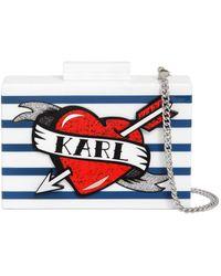 """Karl Lagerfeld - Pochette """"captain Karl"""" - Lyst"""
