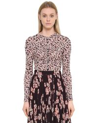 Isabel Marant - Top In Jersey Stampa Floreale - Lyst