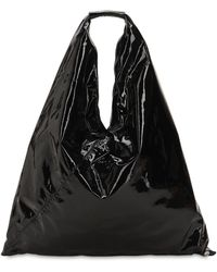 MM6 by Maison Martin Margiela - Japanese Patent Leather Bag - Lyst