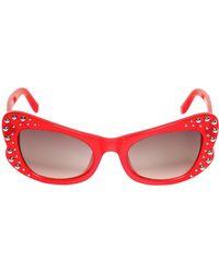 Agent Provocateur | Acetate Butterfly Sunglasses | Lyst