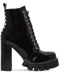 Jeffrey Campbell - 120mm Brushed Leather Boots - Lyst