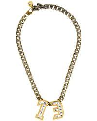Lanvin - Swarovski Pendant Necklace - Lyst