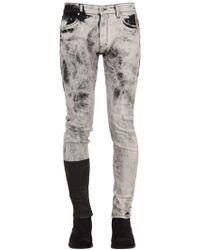 """Represent - Jeans """"essential"""" In Denim Di Misto Cotone - Lyst"""