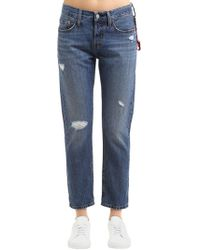 Levi's - 501 Tapered Cotton Denim Jeans - Lyst