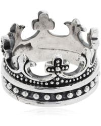Cantini Mc Firenze - Crown Ring - Lyst