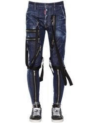 "DSquared² - Jeans De Denim ""military"" 15cm - Lyst"