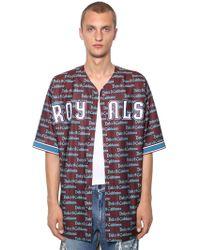 Dolce & Gabbana - Camicia Baseball - Lyst