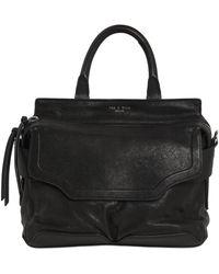 Rag & Bone - Small Pilot Leather Top Handle Bag - Lyst