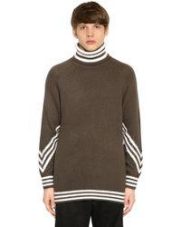 adidas Originals - 3stripes Turtleneck Sweater - Lyst