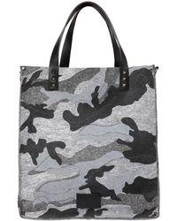 Valentino - Camouflage Felt Bag - Lyst