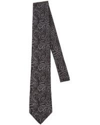 Etro - 8cm Paisley Silk Jacquard Tie - Lyst