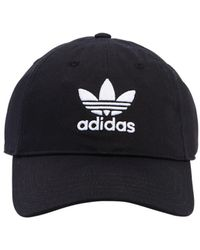 adidas Originals - Logo Embroidered Twill Baseball Hat - Lyst