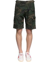 Carhartt - Aviation Camo Cotton Ripstop Shorts - Lyst