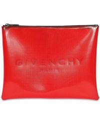 Givenchy - Pochette Avec Logo - Lyst