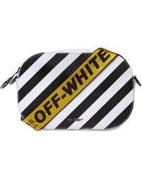 Off-White c/o Virgil Abloh - Diagonal Stripes Leather Camera Bag - Lyst