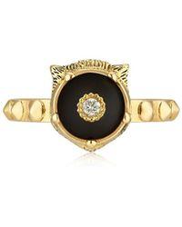 Gucci - 18kt Gold Le Marché Des Merveilles Ring - Lyst