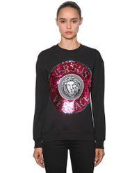 Versus - Versus Sequined Sweatshirt - Lyst