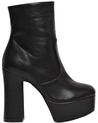 Jeffrey Campbell - 130mm De-facto Faux Leather Boots - Lyst