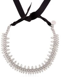 Ellen Conde - Brilliant Jewelry Spike Crystal Necklace - Lyst
