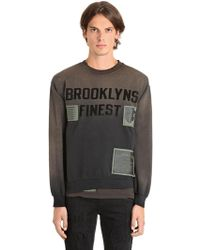 MadeWorn - Brooklyns Finest Cotton Sweatshirt - Lyst