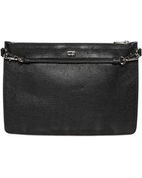 Dolce & Gabbana - Grained Leather Crossbody Bag - Lyst
